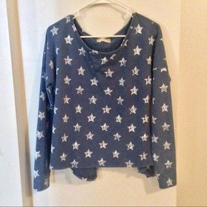 ☀️Altair'd State Open Back Sweatshirt, Stars